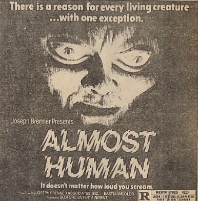 POSTER - ALMOST HUMAN